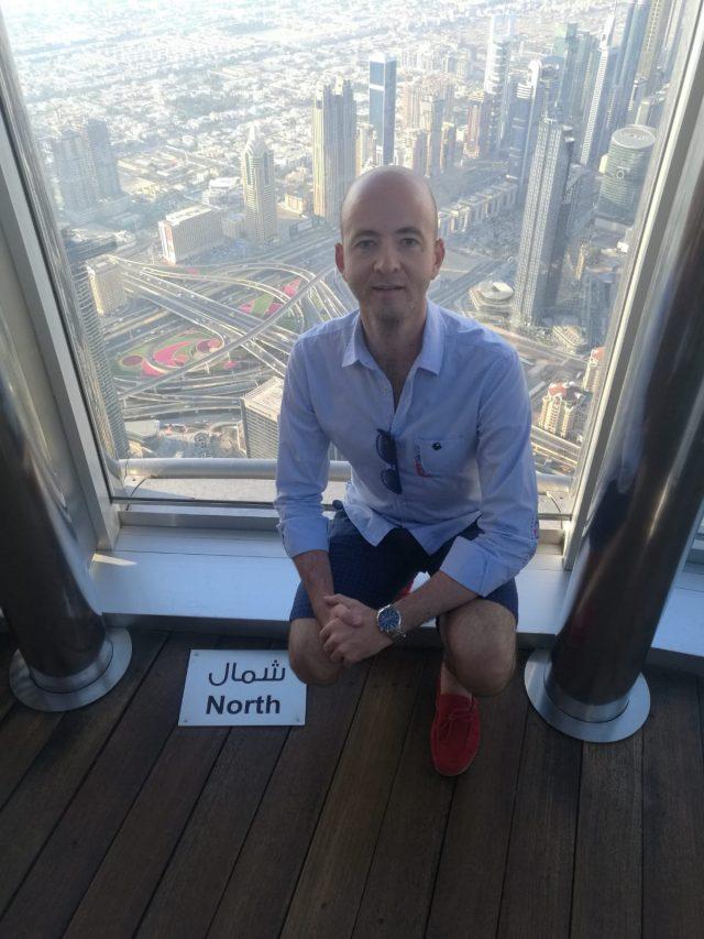 Matteo Calloni a Dubai